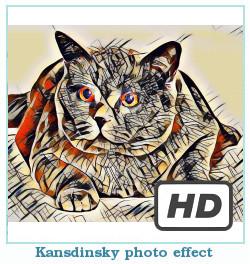 Deepdream dreamscope efekt zdjęć Kandinsky