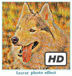 Prisma efekt zdjęć Seurat