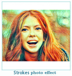 strokes dreamscope photo effect