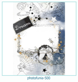 PhotoFunia Photo frame 500