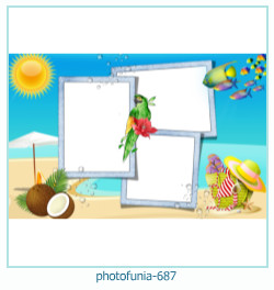 PhotoFunia Photo frame 687