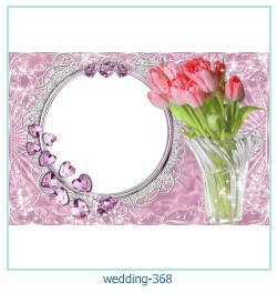 Marco de la foto de la boda 368