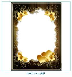 Marco de la foto de la boda 369