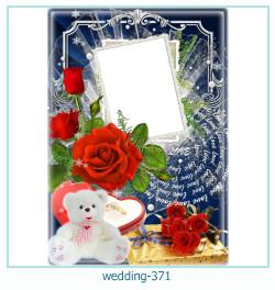 Marco de la foto de la boda 371