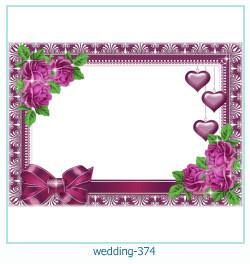 Marco de la foto de la boda 374