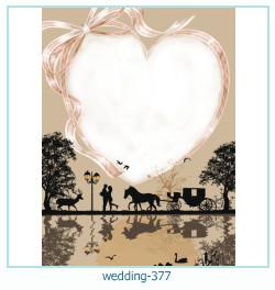 Marco de la foto de la boda 377