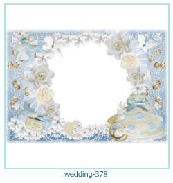 Marco de la foto de la boda 378