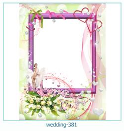 Marco de la foto de la boda 381