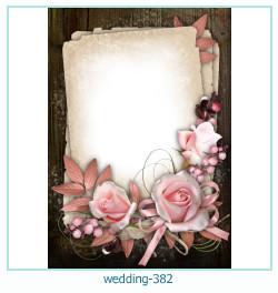 Marco de la foto de la boda 382