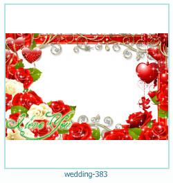 Marco de la foto de la boda 383