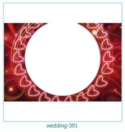 Marco de la foto de la boda 391