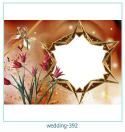 Marco de la foto de la boda 392
