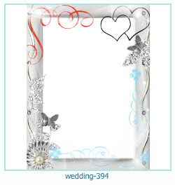Marco de la foto de la boda 394