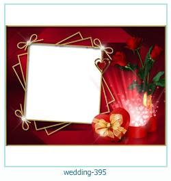Marco de la foto de la boda 395