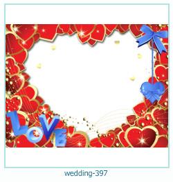 Marco de la foto de la boda 397