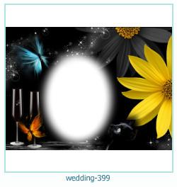Marco de la foto de la boda 399