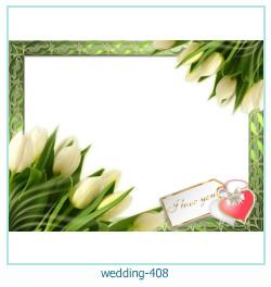 Marco de la foto de la boda 408