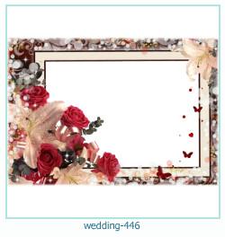 Marco de la foto de la boda 446