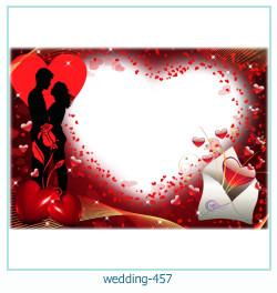 Marco de la foto de la boda 457