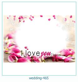Marco de la foto de la boda 465