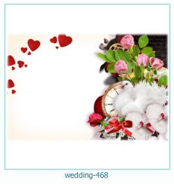 Marco de la foto de la boda 468