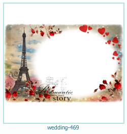 Marco de la foto de la boda 469