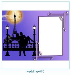 Marco de la foto de la boda 470