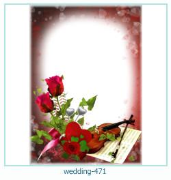 Marco de la foto de la boda 471