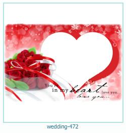 Marco de la foto de la boda 472