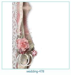 Marco de la foto de la boda 478