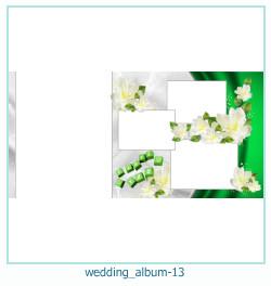 शादी की एलबम फोटो किताबें 13