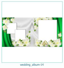 शादी की एलबम फोटो किताबें 14