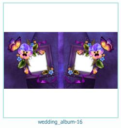 शादी की एलबम फोटो किताबें 16