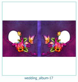 शादी की एलबम फोटो किताबें 17