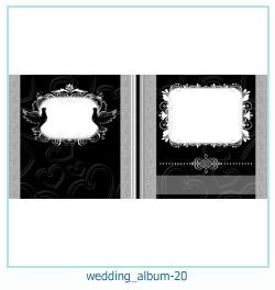 शादी की एलबम फोटो किताबें 20