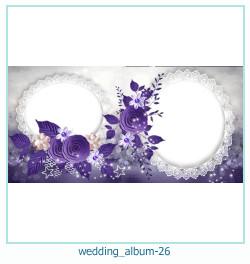 शादी की एलबम फोटो किताबें 26
