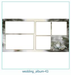 शादी की एलबम फोटो किताबें 43