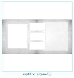 शादी की एलबम फोटो किताबें 45