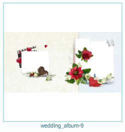 शादी की एलबम फोटो किताबें 9