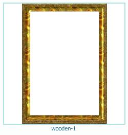 Marco de fotos de madera 1