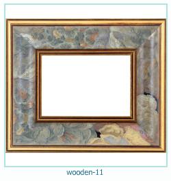 लकड़ी के फोटो फ्रेम 11