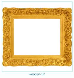 लकड़ी के फोटो फ्रेम 12