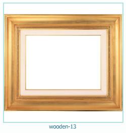 लकड़ी के फोटो फ्रेम 13