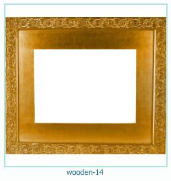 लकड़ी के फोटो फ्रेम 14
