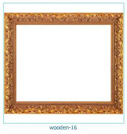 लकड़ी के फोटो फ्रेम 16
