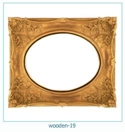 लकड़ी के फोटो फ्रेम 19