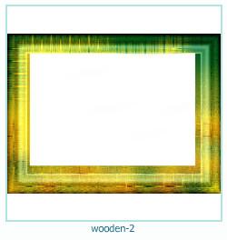 Marco de fotos de madera 2