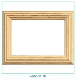 लकड़ी के फोटो फ्रेम 20