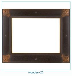 लकड़ी के फोटो फ्रेम 21