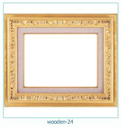 लकड़ी के फोटो फ्रेम 24